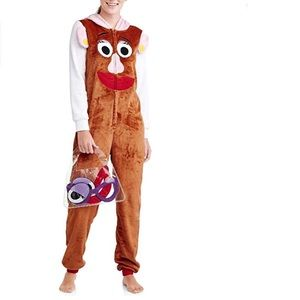5 For $15 Disney Mrs Potato Head Pajamas Costume